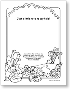 HomeTouch Note for coloring